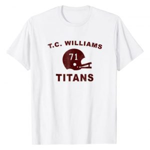 North State Tees Graphic Tshirt 1 T.C. Williams Titans Football Helmet T Shirt