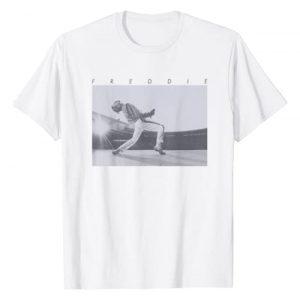 Freddie Mercury Graphic Tshirt 1 Official Howl Stage Icon Photo T-Shirt T-Shirt