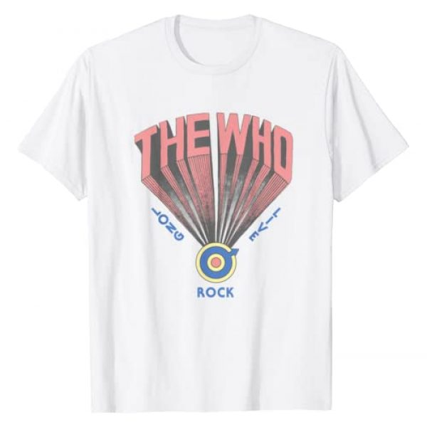 Unknown Graphic Tshirt 1 The Who Official Long Live Rock Retro T-Shirt T-Shirt