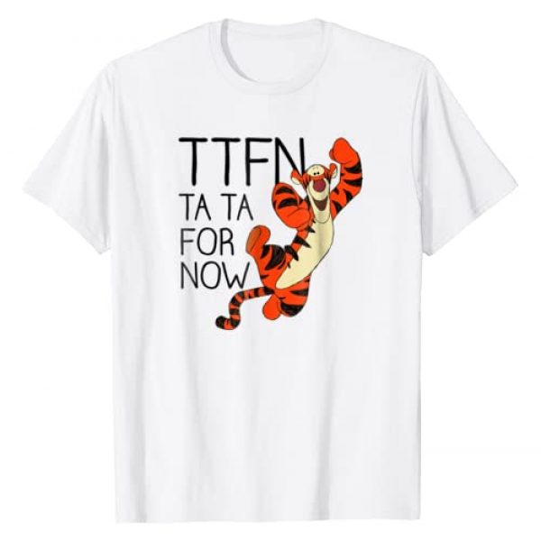 Disney Graphic Tshirt 1 Winnie the Pooh Tiger Ta Da for Now T-shirt