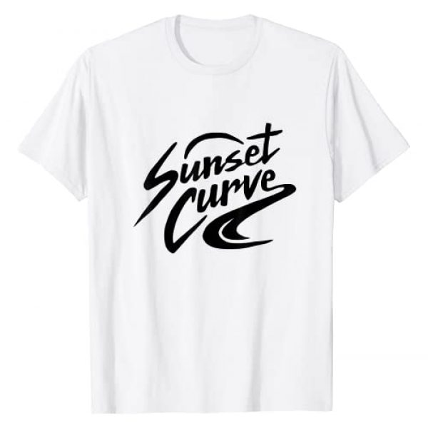 Halla Merch Graphic Tshirt 1 Sunset Curve Band T-Shirt