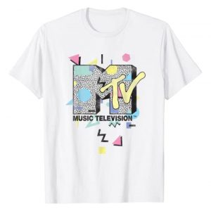MTV Graphic Tshirt 1 Retro Shape Design Logo Graphic T-Shirt