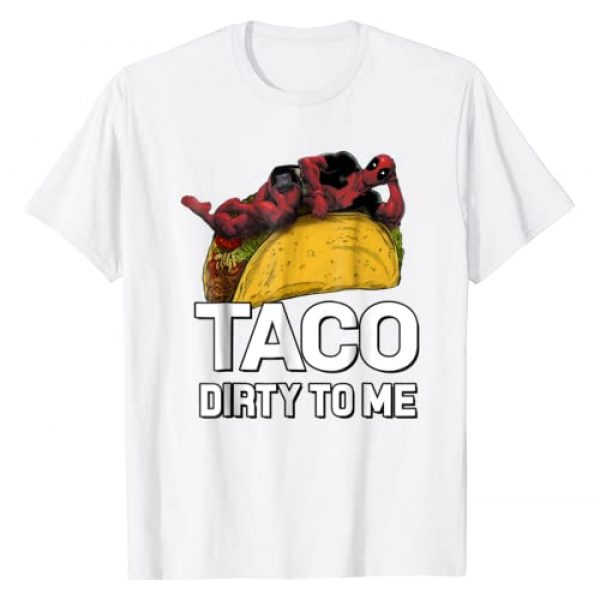 Marvel Graphic Tshirt 1 Deadpool Taco Dirty To Me Graphic T-Shirt