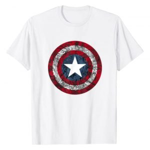 Marvel Graphic Tshirt 1 Captain America Avengers Shield Comic T-Shirt C1