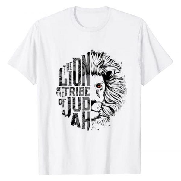 Christian Soul Graphic Tshirt 1 Lion of Tribe of Judah Religious Graphic Christian Worship T-Shirt