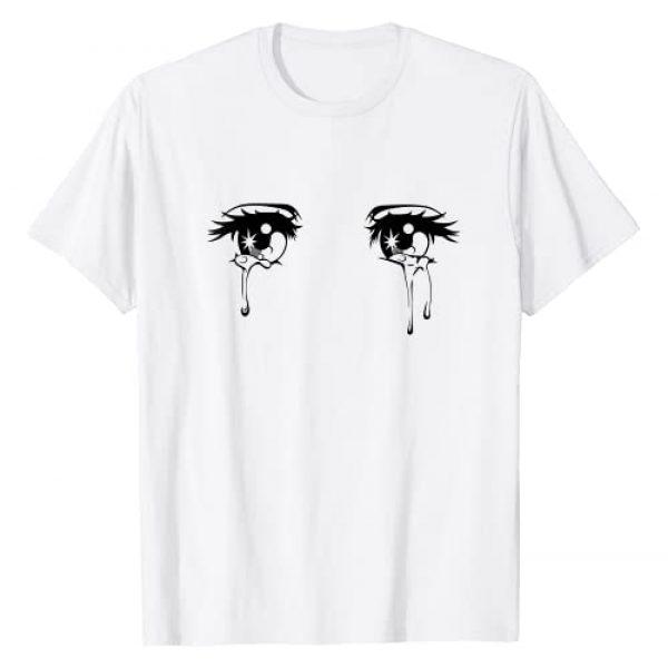 Sexy Stripping Stripper Strip Tees Graphic Tshirt 1 Sad Crying Anime Tear Eyes T-Shirt
