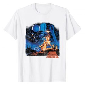 Star Wars Graphic Tshirt 1 A New Hope Classic Vintage Poster T-Shirt C2