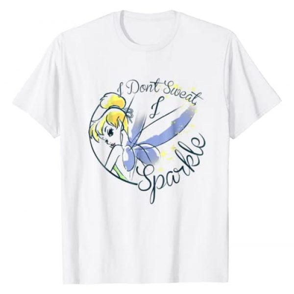 Disney Graphic Tshirt 1 Peter Pan Tinkerbell Sweat Sparkle Graphic T-Shirt