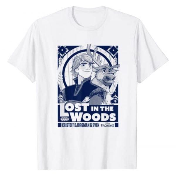Disney Graphic Tshirt 1 Frozen 2 Kristoff & Sven Lost In The Woods Poster T-Shirt