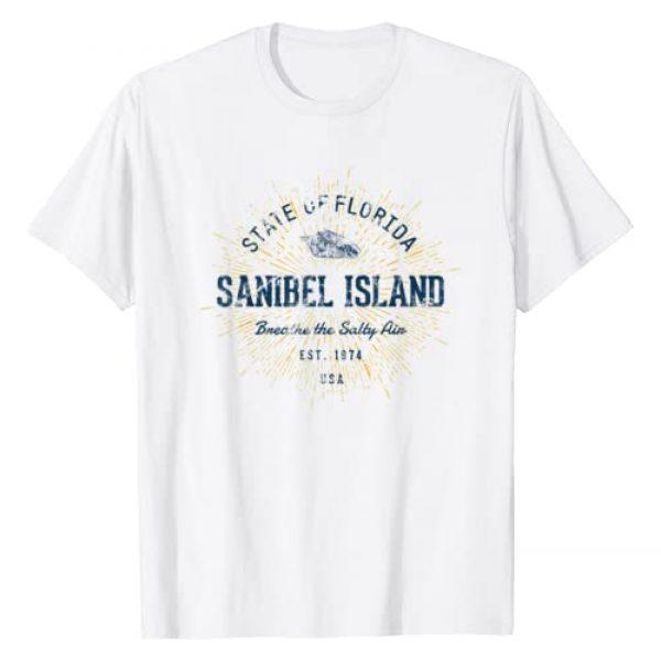 Treaja Graphic Tshirt 1 Vintage Sanibel Island T-Shirt