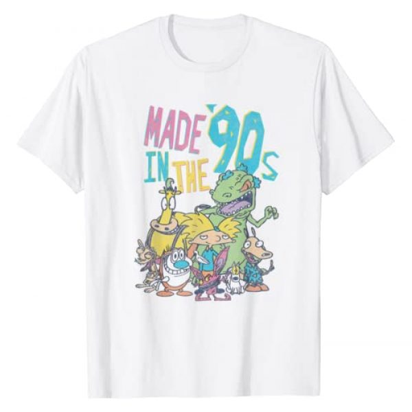 Nickelodeon Graphic Tshirt 1 Made In the 90s Character T-Shirt