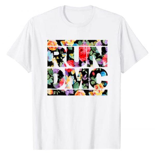 Unknown Graphic Tshirt 1 Run DMC Official Floral Logo T-Shirt