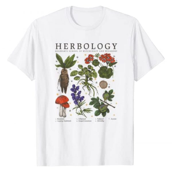 Harry Potter Graphic Tshirt 1 Herbology Plants T-Shirt