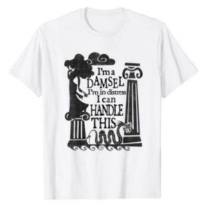 Disney Graphic Tshirt 1 Hercules Meg Damsel Retro Quote Poster T-Shirt