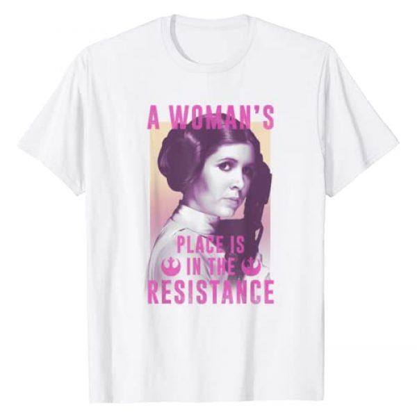 Star Wars Graphic Tshirt 1 Princess Leia Resistance T-Shirt