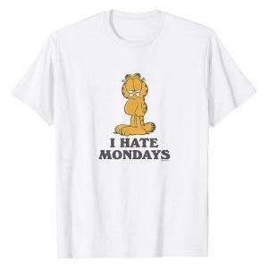 Garfield Graphic Tshirt 1 I Hate Mondays T-Shirt