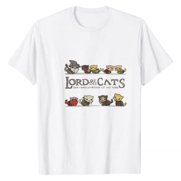 Cat Lover T-Shirt Graphic Tshirt 1 Cat - Lord of The Cats tshirt - Funny Kitten Tshirt T-Shirt