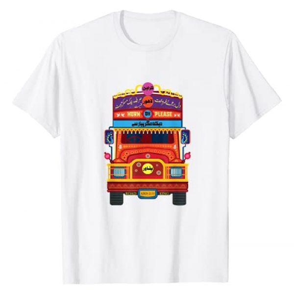 Exotic Truck Art South Asia Cultural Gifts Graphic Tshirt 1 Urdu Truck Art Lahore Karachi Typography Pakistan Cute Gift T-Shirt