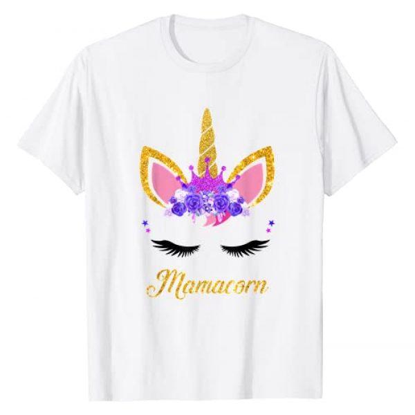 Unicorn Mom Unicorn Dad T Shirts Graphic Tshirt 1 Mamacorn Cute Unicorn Mom T-Shirt
