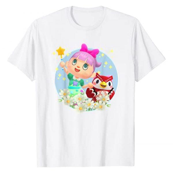 Animal Crossing Graphic Tshirt 1 New Horizons Villager & Celeste Portrait T-Shirt