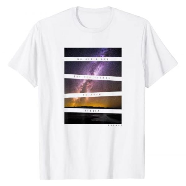 NATIONAL GEOGRAPHIC Graphic Tshirt 1 Cosmos We Are A Way Dark Text Panels T-Shirt