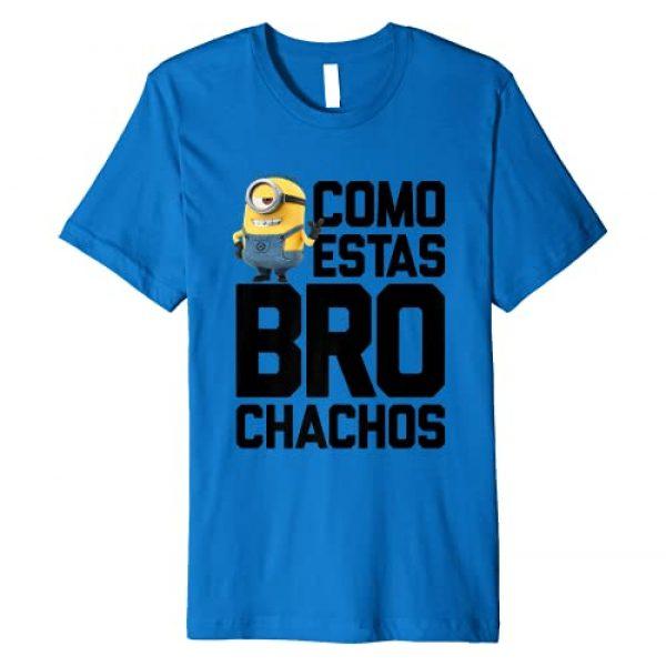 Despicable Me Graphic Tshirt 1 Minions Stuart Bro Chachos Premium T-Shirt