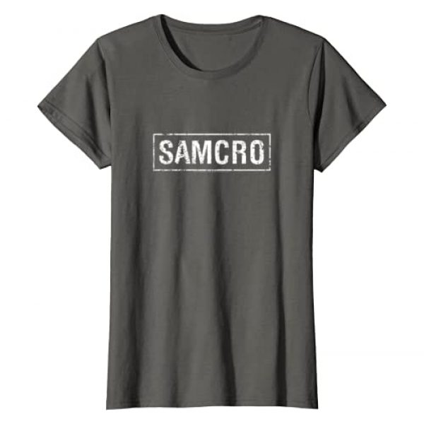 FX Networks Graphic Tshirt 1 Womens Sons of Anarchy Samcro T-Shirt