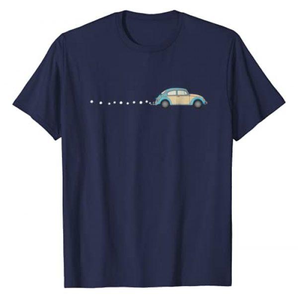 KP Designs Graphic Tshirt 1 Vintage Beetle Bug Car T-Shirt