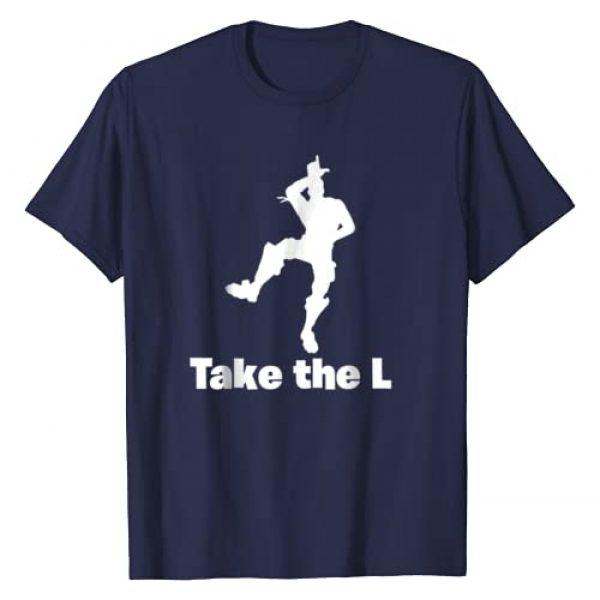 "Minty Designs Graphic Tshirt 1 ""Take the L"" Graphic Gaming T-shirt"