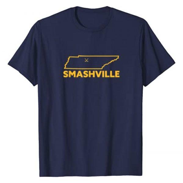 Tennessee Tees Graphic Tshirt 1 Smashville Hockey T-Shirt
