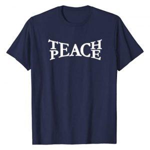 Teach Peace Sign Graphic Tshirt 1 Teach Peace T-Shirt