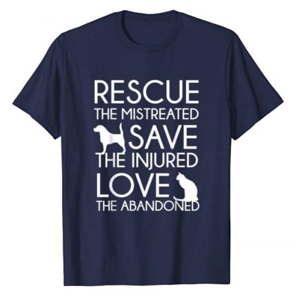 Good Vibes Shirts Graphic Tshirt 1 Animal Rescue T-Shirt