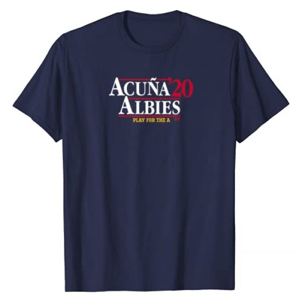 BreakingT Graphic Tshirt 1 Officially Licensed Acuna & Albies - Acuna Albies 2020 T-Shirt