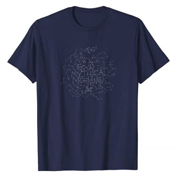 MYTHICAL Graphic Tshirt 1 Good Mythical Morning Constellation Tee