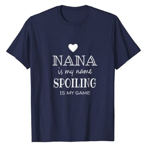 Best Nana Gift for Christmas Birthday Present Graphic Tshirt 1 Gifts for Nana Grandma Nana is My Name T-Shirt