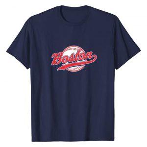 Boston Baseball T-Shirts & Tees Graphic Tshirt 1 Boston T-shirt Vintage Baseball Throwback Retro Tee