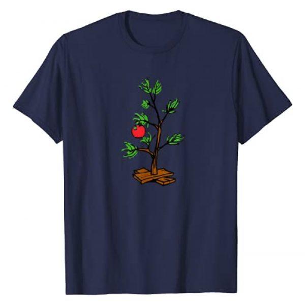Peanuts Graphic Tshirt 1 Charlie Brown Holiday Tree T-Shirt