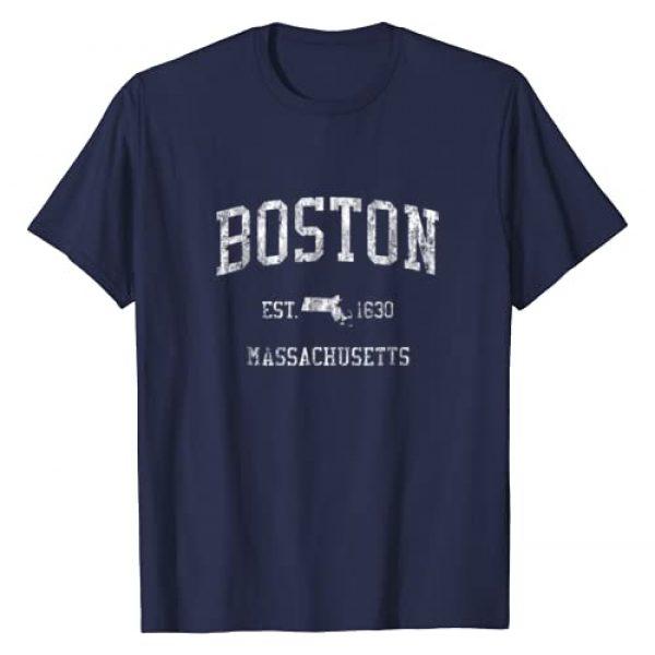 Jim Shorts Graphic Tshirt 1 Boston T-Shirt Vintage Sports Design Boston Massachusetts MA