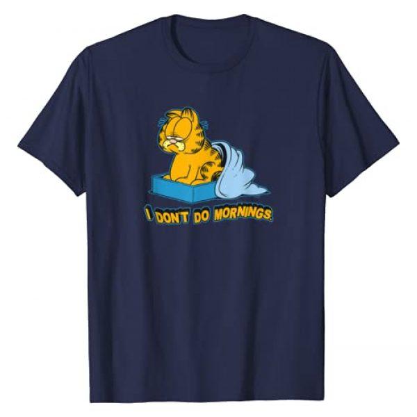 Garfield Graphic Tshirt 1 I Dont Do Mornings T Shirt