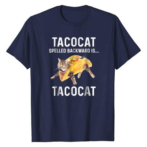 Tacocat Spelled Backward Is Tacocat Love Cat Graphic Tshirt 1 Tacocat Spelled Backward Is Tacocat Love Cat Tshirt
