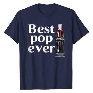 Coca-Cola Graphic Tshirt 1 Best Pop Ever Dad Bottle Graphic T-Shirt