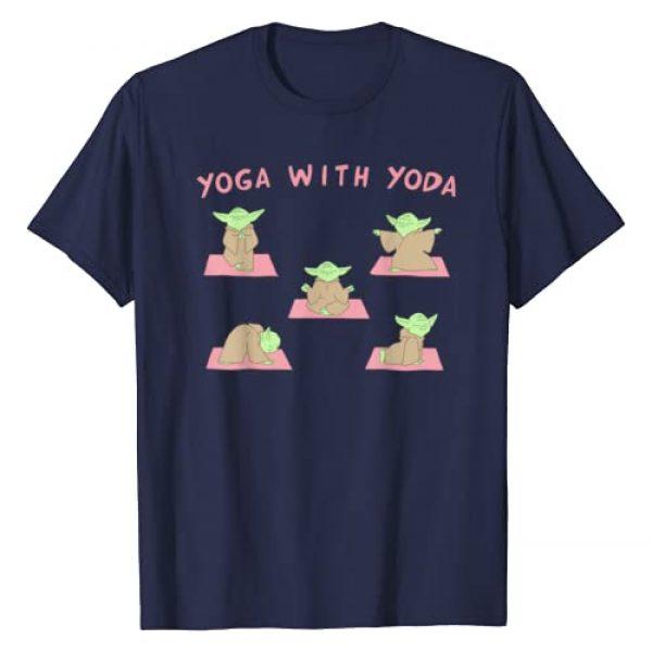 Star Wars Graphic Tshirt 1 Yoga With Yoda T-Shirt