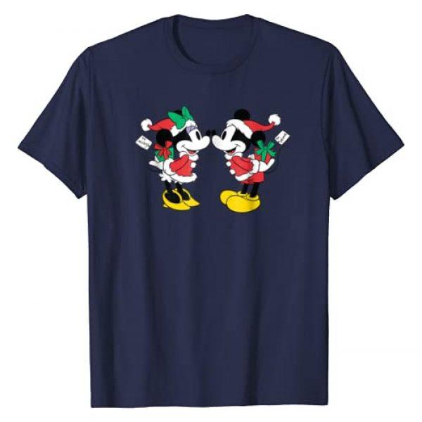 Disney Graphic Tshirt 1 Christmas Mickey and Minnie Kiss T-shirt