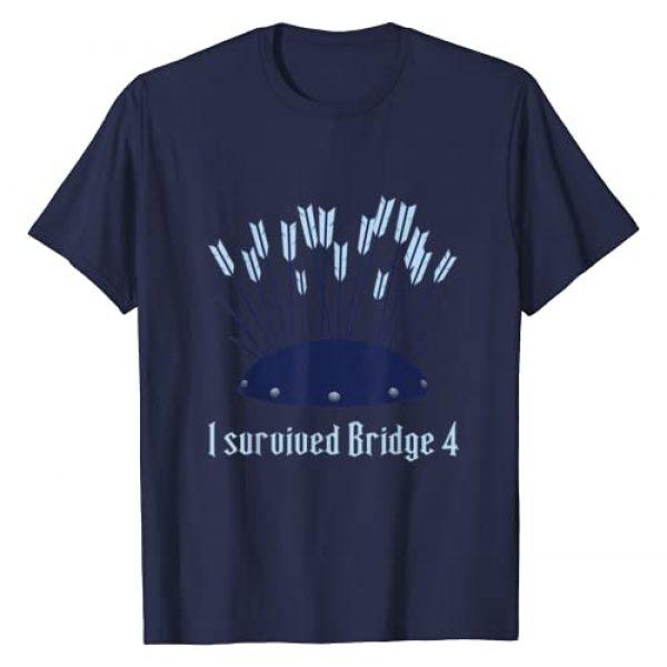 Brandon Sanderson Graphic Tshirt 1 Stormlight Archive - I Survived Bridge 4 T-Shirt