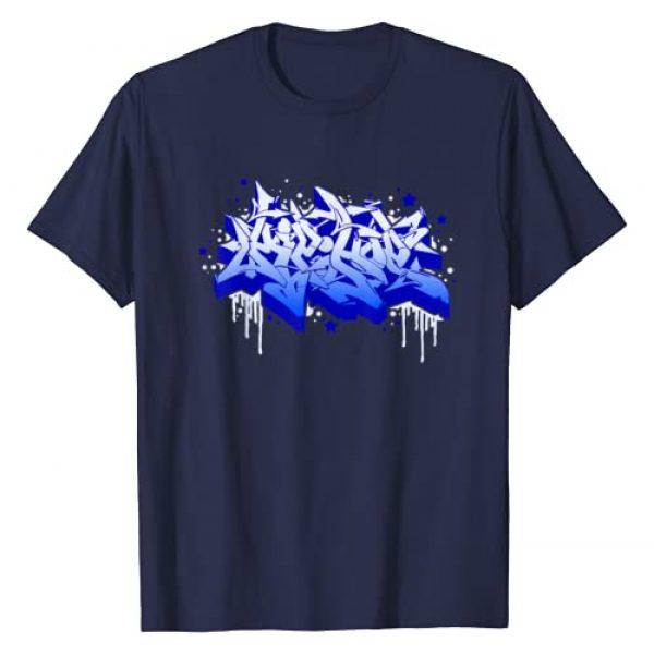 Graff Tees Graphic Tshirt 1 Hip Hop Wildstyle Graffiti B-Boy Graff Urban Street T-Shirt