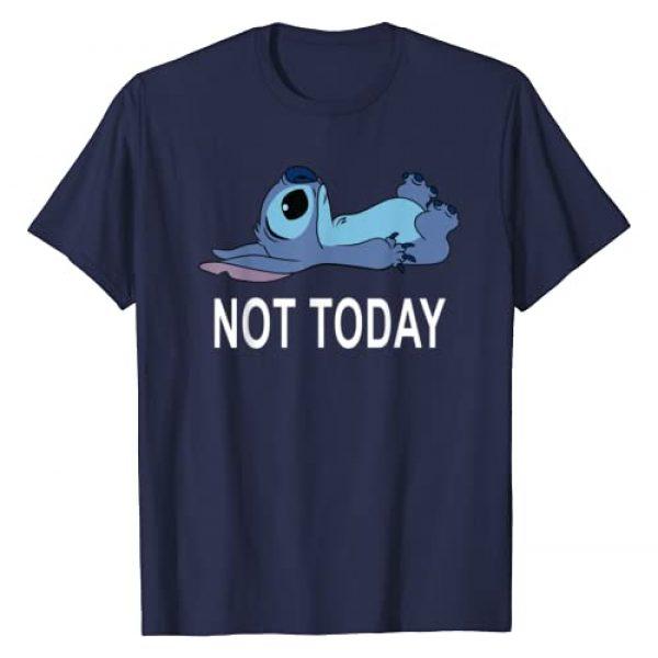 Disney Graphic Tshirt 1 Lilo & Stitch Not Today Stitch T-Shirt