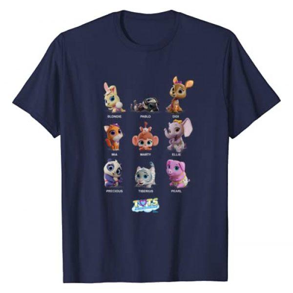Disney Graphic Tshirt 1 Junior T.O.T.S. Characters T-Shirt