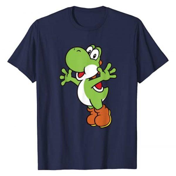 SUPER MARIO Graphic Tshirt 1 Yoshi Classic Jump Portrait T-Shirt