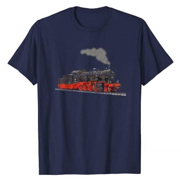 Trains Model Railway Tees Graphic Tshirt 1 Real Steam Train Tshirt I Locomotive T-Shirt