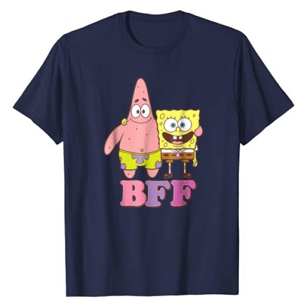 Nickelodeon Graphic Tshirt 1 Spongebob Squarepants and Patrick BFF T-shirt